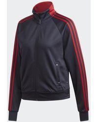 adidas Id 3-stripes Snap Trainingsjack - Blauw