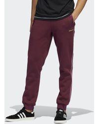 adidas SPRT Shadow 3-Streifen Sweat Hose - Lila