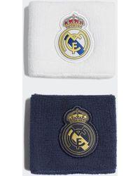 adidas Real Madrid Wristbands - White