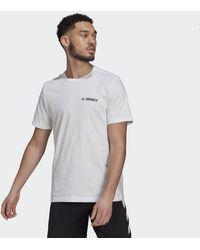 adidas Terrex Graphic Rocklogo T-shirt - Wit