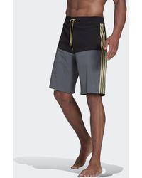 adidas Knielange Colorblock Boardshort - Zwart