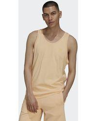 adidas Camiseta sin mangas Adicolor Classics MM Trefoil - Naranja