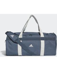 adidas 4ATHLTS Duffelbag M - Blau