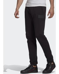 adidas R.y.v. Silicone Double Linear Badge Joggers - Black