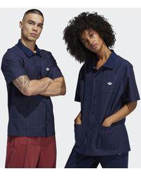 adidas Shooting Overhemd (uniseks) - Blauw