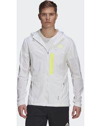 adidas Marathon Translucent Jacket - White