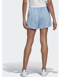 adidas Adicolor Classics Satin Shorts - Blau