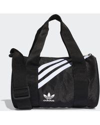 adidas Mini Nylon Duffelbag - Schwarz