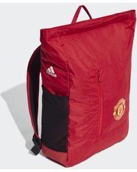 adidas Manchester United Rugzak - Rood