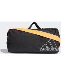 adidas Sports Canvas Duffelbag - Schwarz