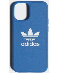 adidas Molded Basic Iphone Case 2020 5.4 Inch - Blauw