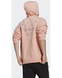 adidas R.y.v. Abstract Trefoil Hoodie - Roze