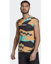 adidas Terrex Parley Agravic Trail Running Tanktop - Oranje