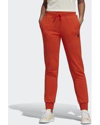 adidas Pantalon Cuffed - Rouge