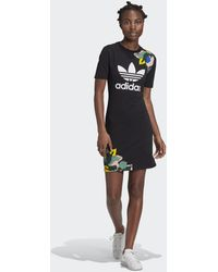 adidas T-shirt Jurk - Zwart