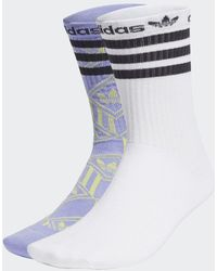 adidas Crew Socken, 2 Paar - Blau