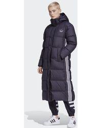 adidas Long Puffer Donsjack - Zwart