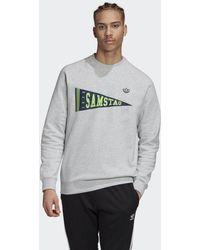 adidas Samstag Graphic Sweatshirt - Grau