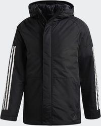 adidas Xploric 3-stripes Winter Jacket - Black