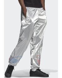 adidas Pantalón Adicolor Tricolor - Metálico