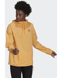 adidas Essentials Gradient Anorak Windjack - Oranje