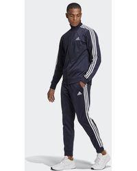 adidas Primegreen Essentials 3-stripes Tracksuit - Blue