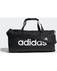 adidas Essentials Logo Duffeltas Medium - Zwart