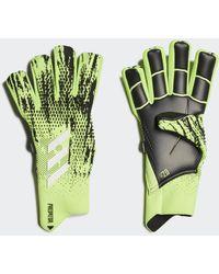 adidas Predator 20 Pro Fingersave Handschoenen - Groen