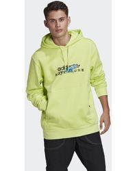 adidas Felpa Adventure Big Logo Hooded - Multicolore