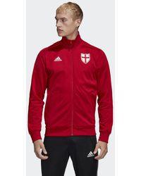 adidas Giacca da allenamento England - Rosso