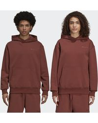 adidas Pharrell Williams Basics Hoodie (gender Neutral) - Brown