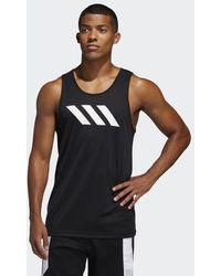 adidas Sport 3-stripes Tanktop - Zwart