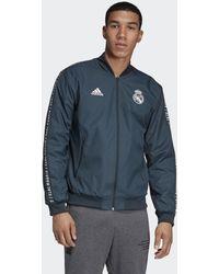 adidas Real Madrid Anthem Jack - Blauw