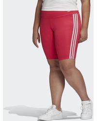 adidas Korte Legging (grote Maat) - Roze