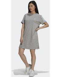 adidas Robe t-shirt Adicolor Classics Roll-Up Sleeve - Gris