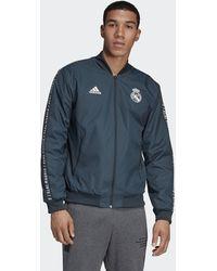 adidas Originals Real Madrid Anthem Jack - Blauw