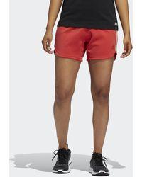 adidas 3-stripes Gym Short - Rood
