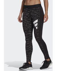 adidas Sportswear Allover Print Leggings - Black