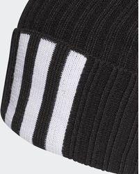 adidas Bonnet 3-Stripes - Noir
