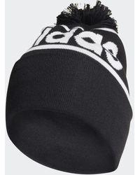 adidas Bonnet en laine With Pompon - Noir