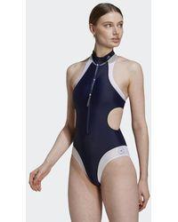 adidas By Stella Mccartney Truepurpose High Neck Badpak - Blauw