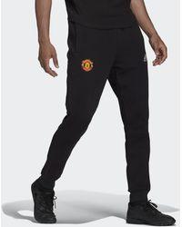 adidas Manchester United Travel Broek - Zwart
