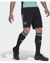 adidas - Pantalón corto entrenamiento Arsenal Tiro - Lyst
