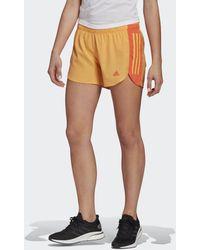 adidas Run It Short - Oranje