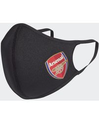 adidas Face Covers XS/S 3-Pack Arsenal FC - Nero