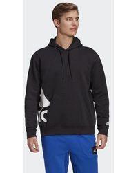adidas Big Badge Of Sport Boxy Hoodie - Black