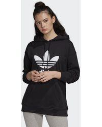 adidas Originals Trefoil Hoodie - Zwart