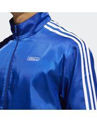 adidas Satin Firebird Trainingsjack - Blauw