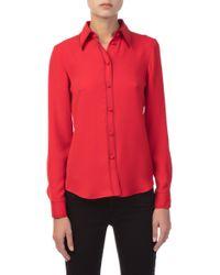 Derek Lam - Long Sleeved Button-down Shirt - Lyst