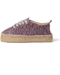Manebí - Espadrilles Lurex Sneakers - Lyst